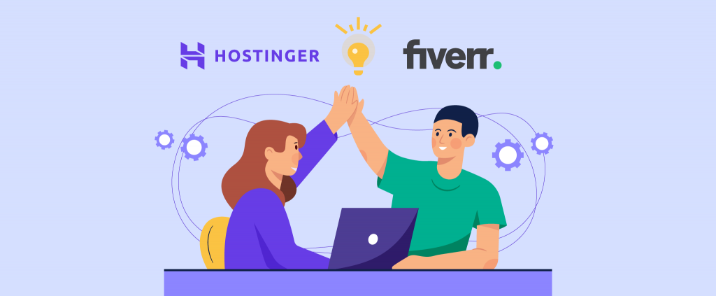 Hostinger se asocia con Fiverr