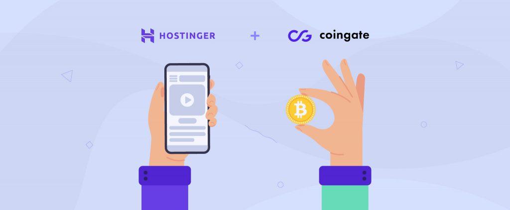 Hostinger y CoinGate: ampliación de oportunidades en pagos con criptomonedas