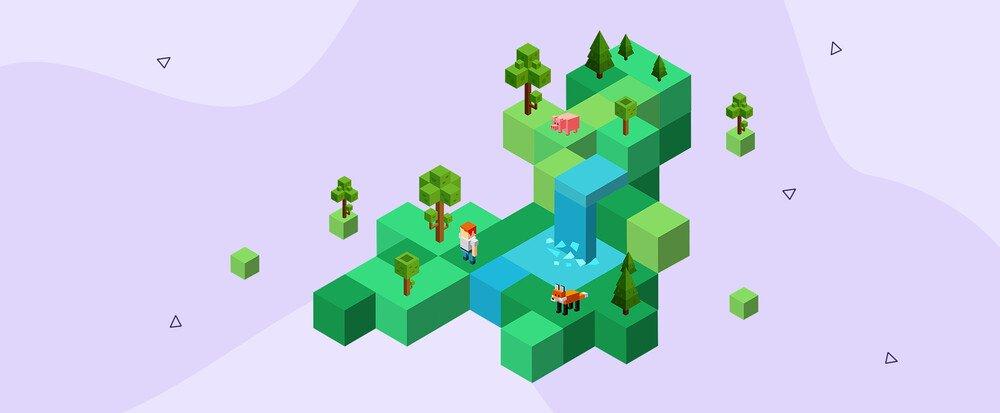 Minecraft desde la perspectiva de los empleados de Hostinger: la imaginación es el único límite