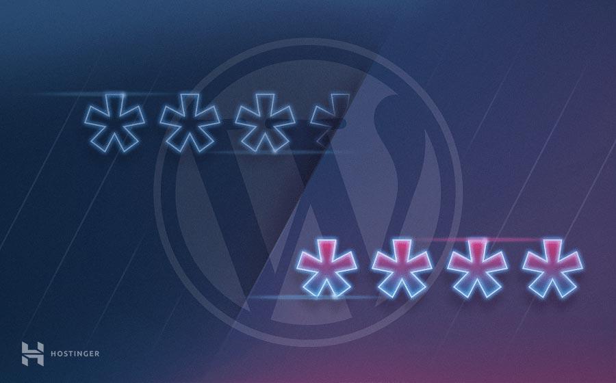Cómo cambiar la contraseña de WordPress