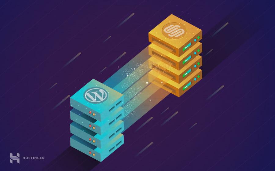 Como exportar el contenido de Squarespace a WordPress