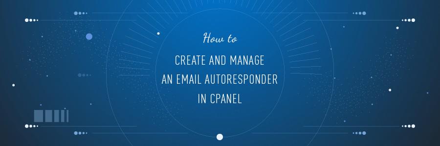 Cómo configurar un autorespondedor de correo electrónico en cPanel
