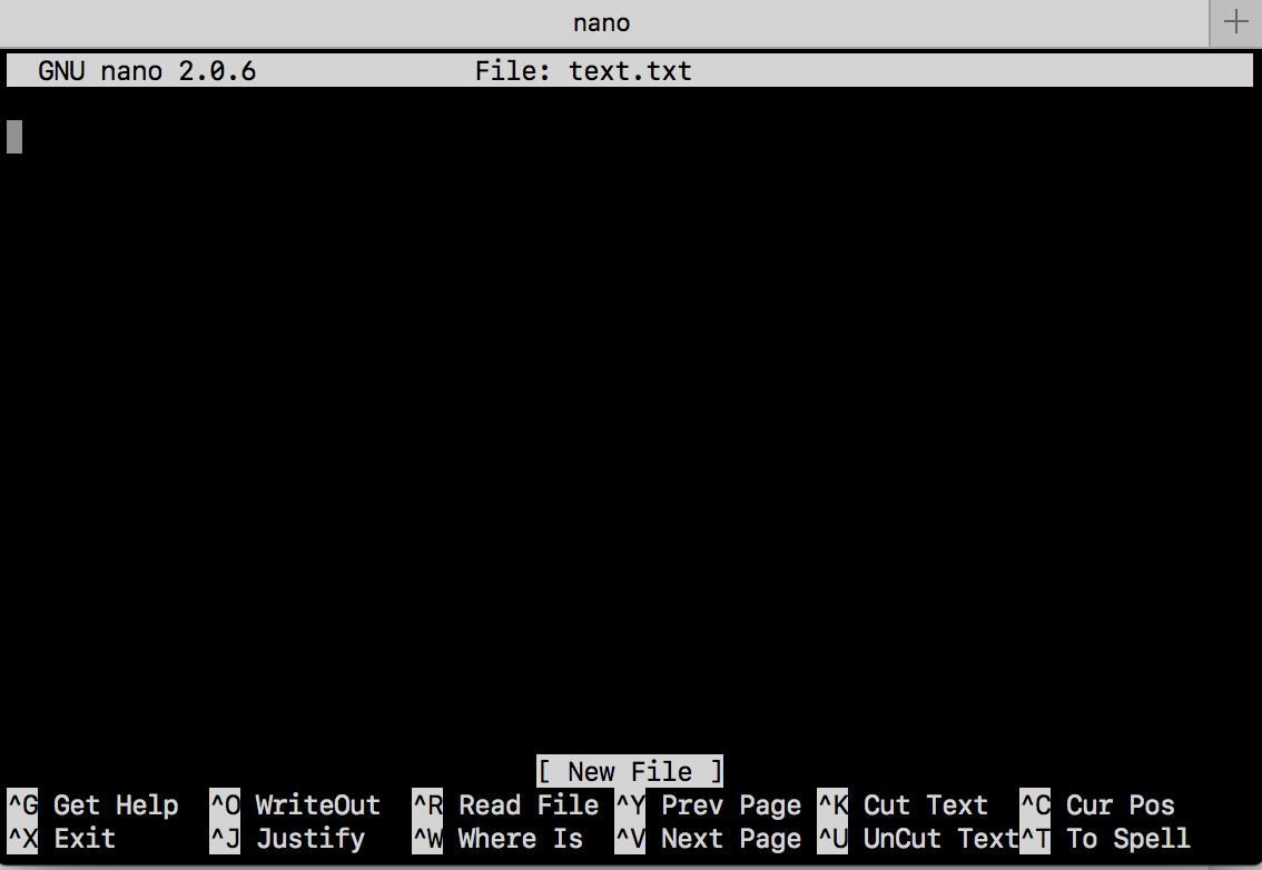 Instalar Nano Text Editor