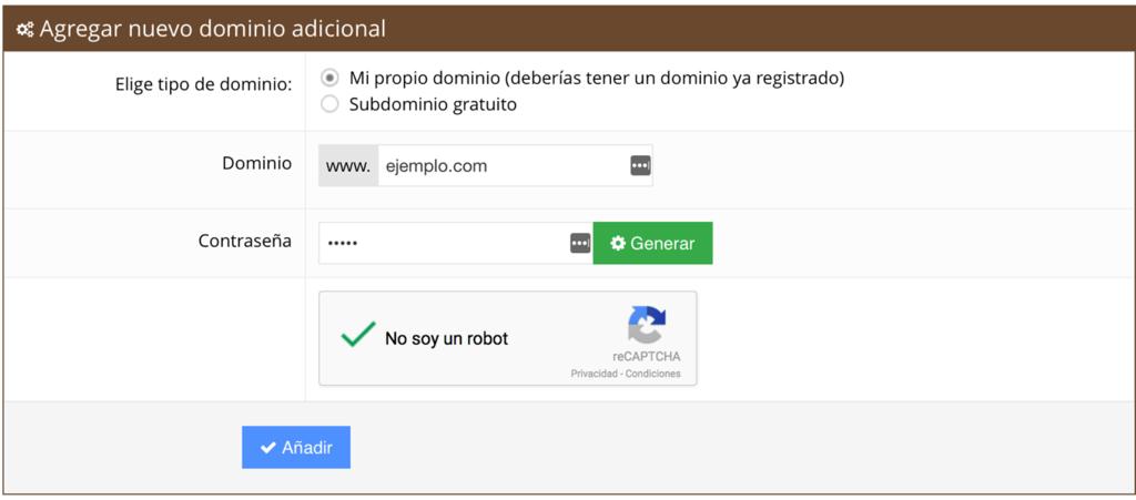 apuntar dominio a hosting
