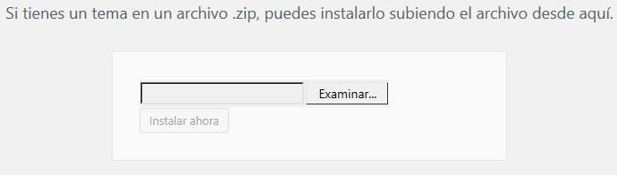 examinar archivos de temas en tu computadora