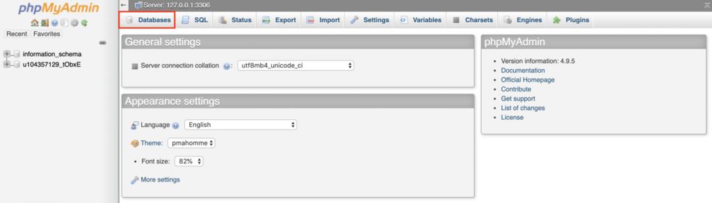 Cómo crear una base de datos en phpMyAdmin.