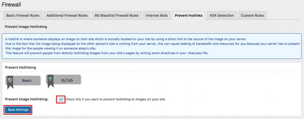 Prevenir enlaces directos utilizando un complemento de WordPress