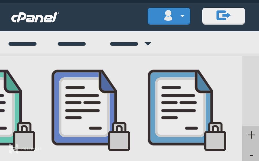 Agregar una contraseña a los directorios de Cpanel