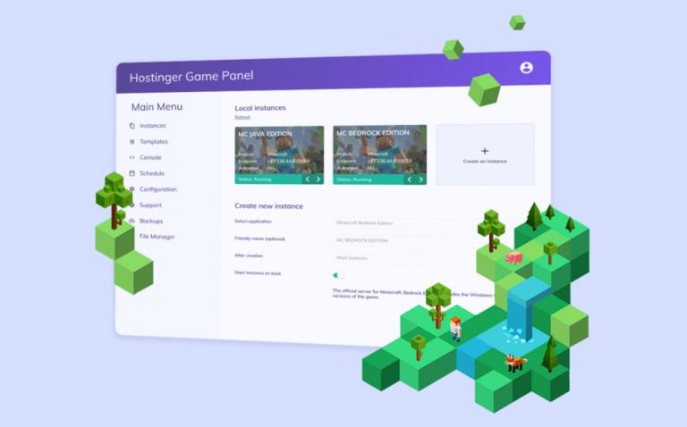 Cómo crear un servidor Minecraft en Hostinger, Ubuntu, Windows y CentOS