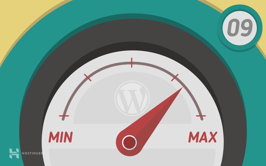 Mejorar la velocidad de sitio de WordPress en 9 pasos