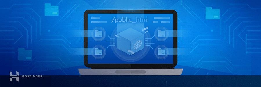 Mover archivos al directorio public_html