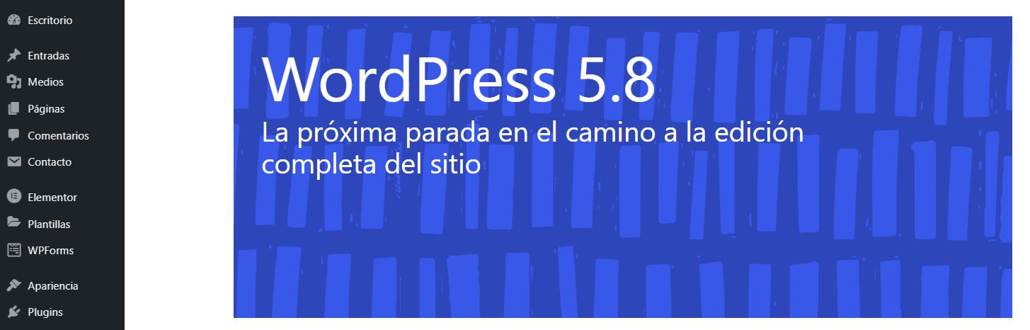 Actualizar a la última versión de WordPress