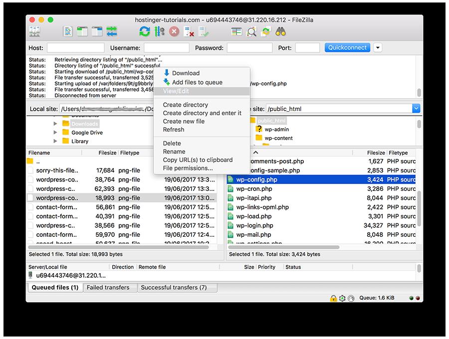 falta un directorio temporal wordpress