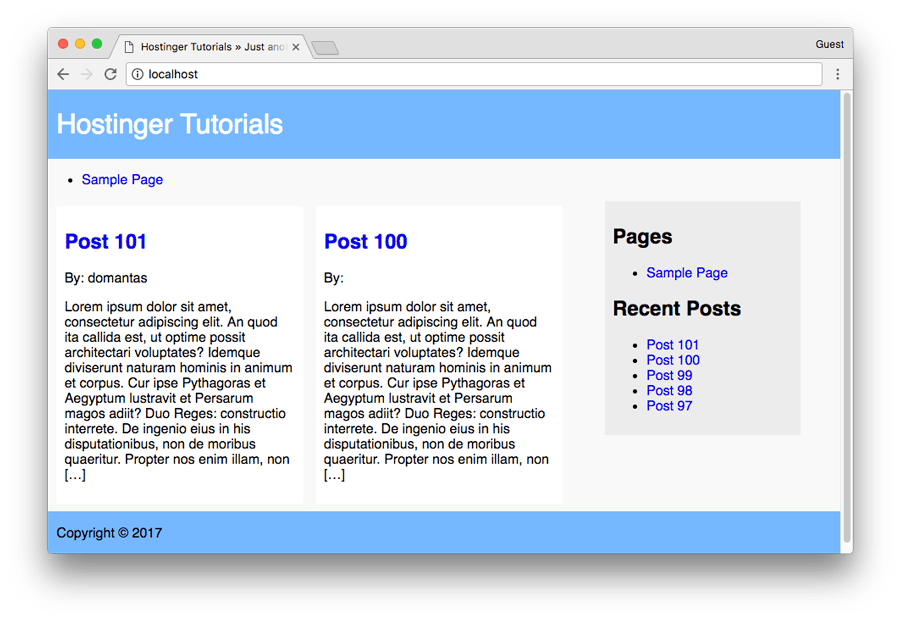 crear tema wordpress