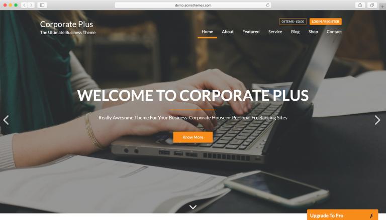 corporate-plus-tema