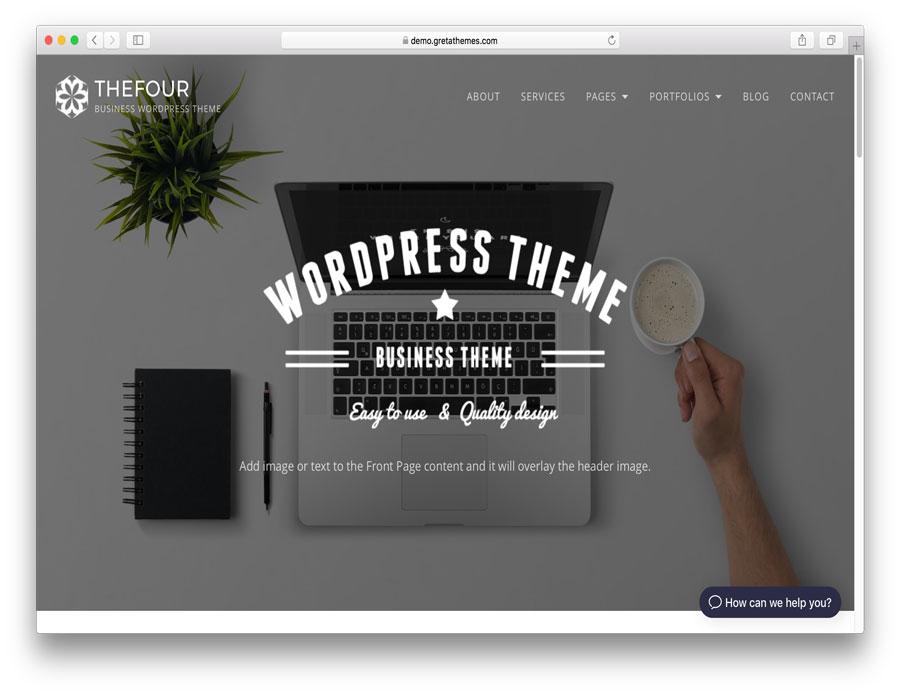 40 de las mejores plantillas para WordPress en el 2018