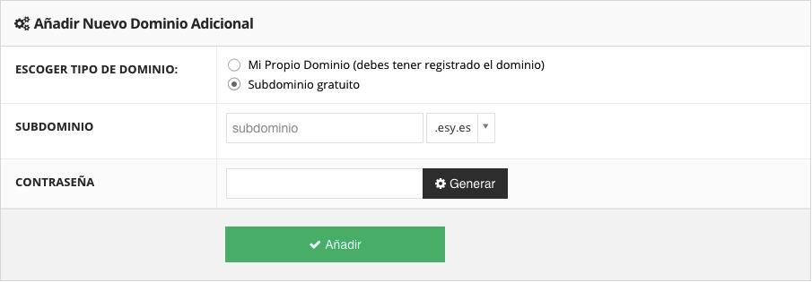 Crea un sito Web di prova utilizzando un sottodominio gratuito fornito da Hostinger
