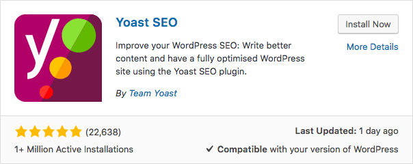 Yoast SEO plugin de WordPress