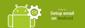 como configurar email en android
