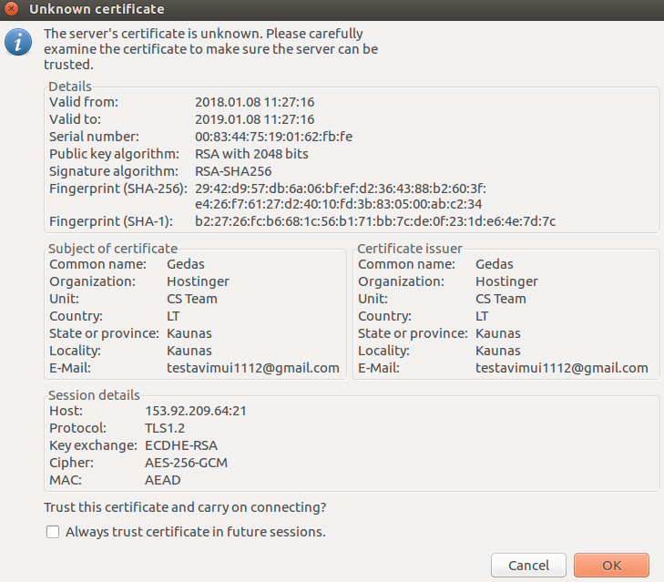 confirmar-certificado-de-servidor-ftp