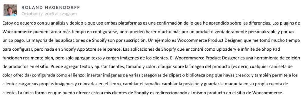 opinion woocommerce shopify
