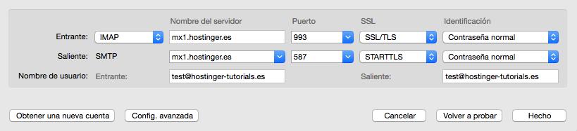 configurar thunderbird email paso final