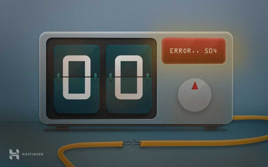 Cómo solucionar el error 504 gateway timeout en WordPress
