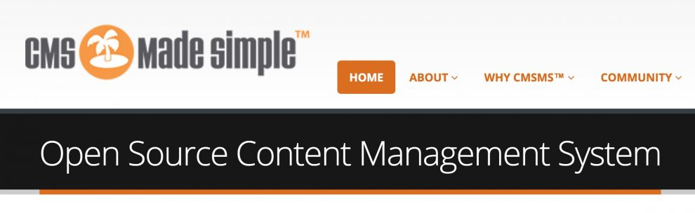 Logo de CMS Made Simple