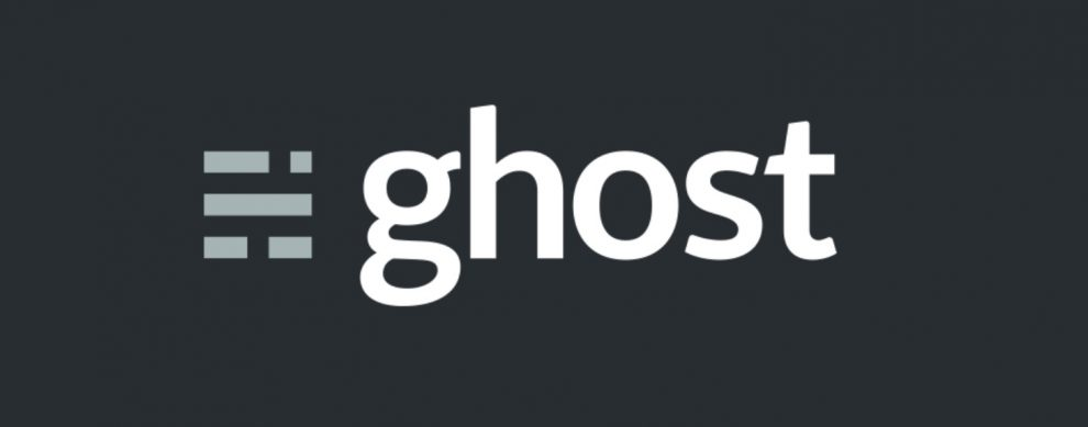 Logotipo de Ghost CMS