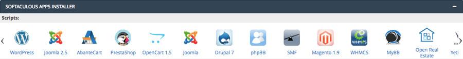 scripts de cPanel auto installer