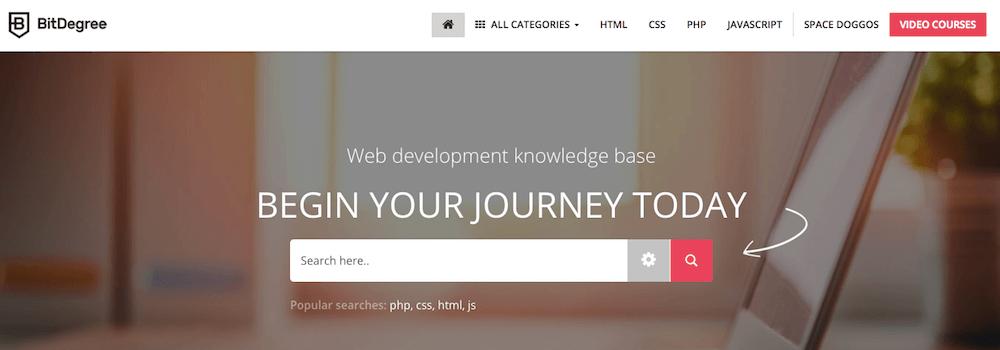 Aprende a programar gratis con BitDegree