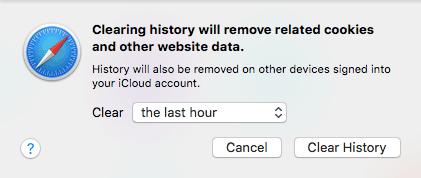 Borrar la caché del navegador Safari