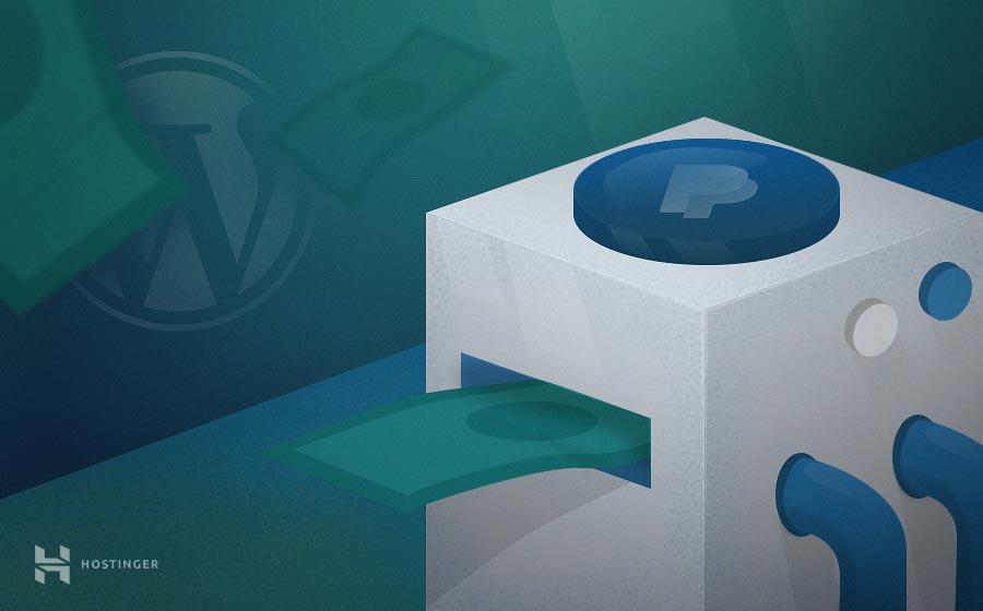 Cómo crear un botón de donación de PayPal en WordPress