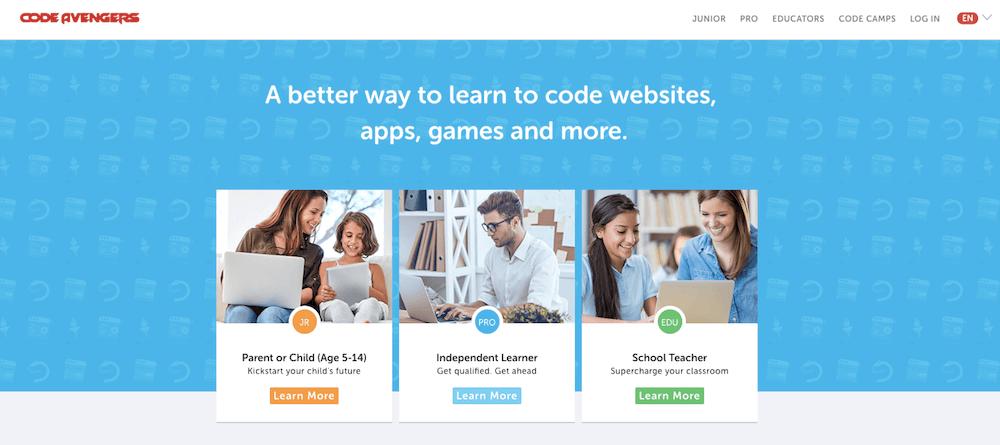 Aprende a programar en línea gratis con Code Avengers