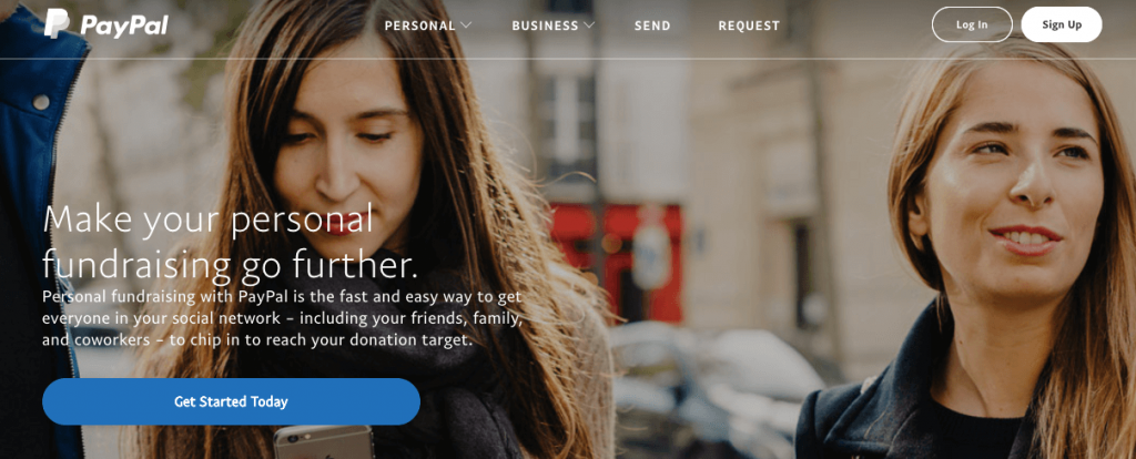 Crear una cuenta de PayPal para obtener un botón de donación