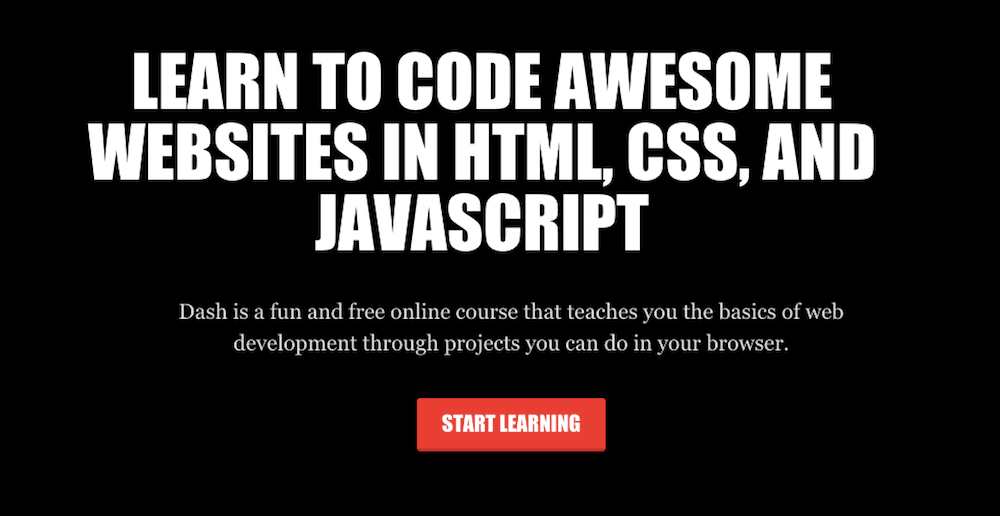 Aprende a programar en línea gratis con Dash General Assembly