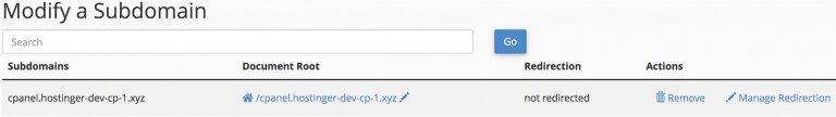 configuracion cpanel proxy