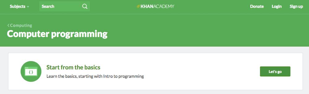Aprende a programar en línea gratis con Khan Academy