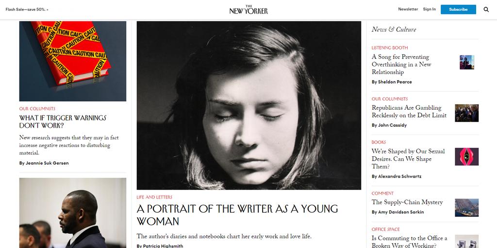 Sitio web de The New Yorker