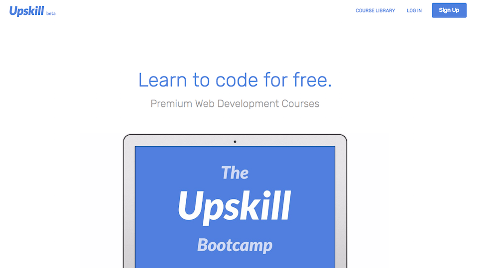 Aprende a programar en línea gratis con Upskill