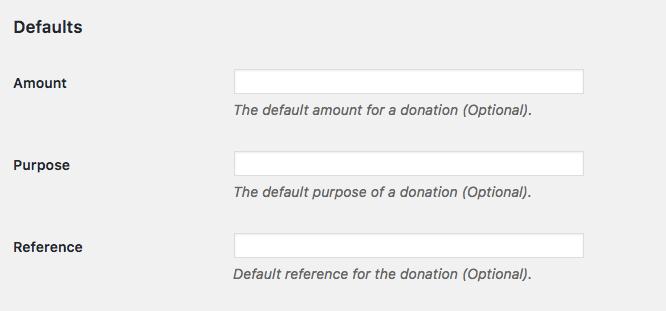 Configuraciones adicionales para el botón de donación de PayPal