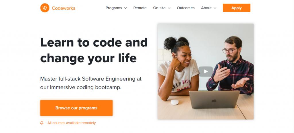 Codeworks es un bootcamp de programación que te ayudará a convertirte en un desarrollador web rápidamente