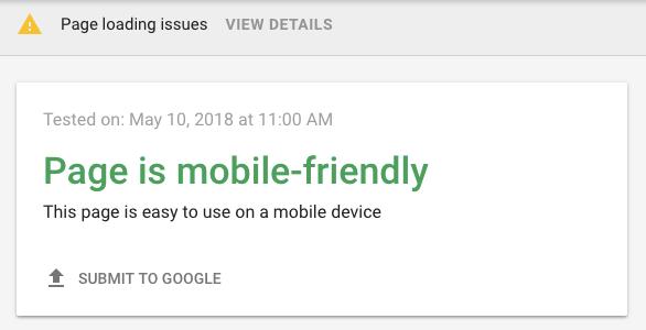 Tip de SEO WordPress: ejecuta una prueba de compatibilidad de dispositivos móviles de Google