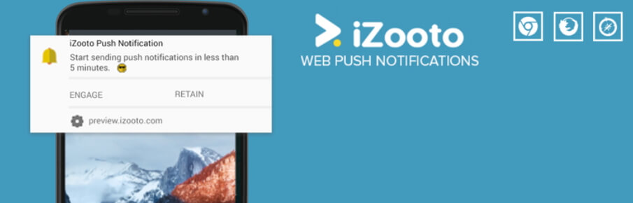 El plugin de notificaciones push de iZooto.