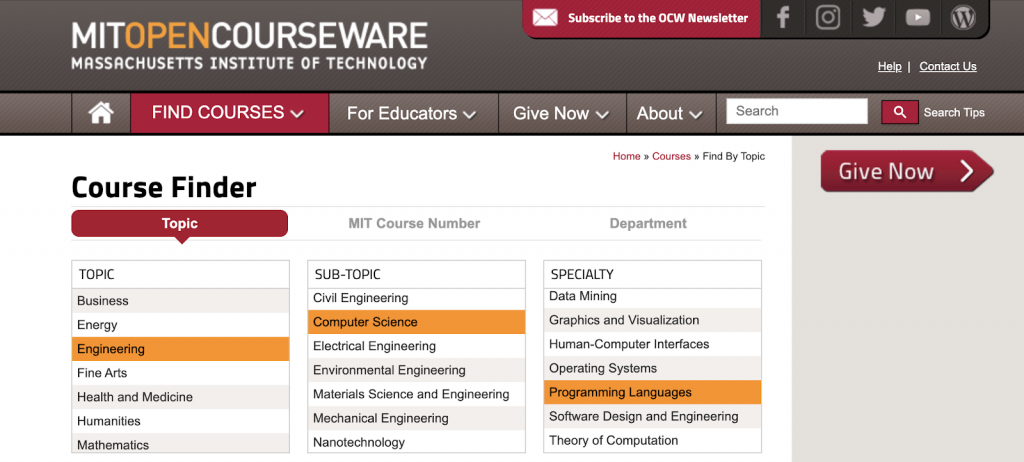 mit-open-courseware-engineering-1
