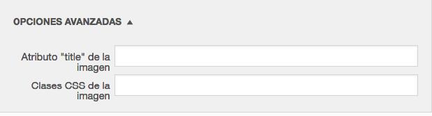 Atributo de título de imagen en WordPress