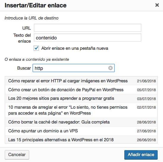 Tip de SEO WordPress: creación de un enlace a contenido relevante