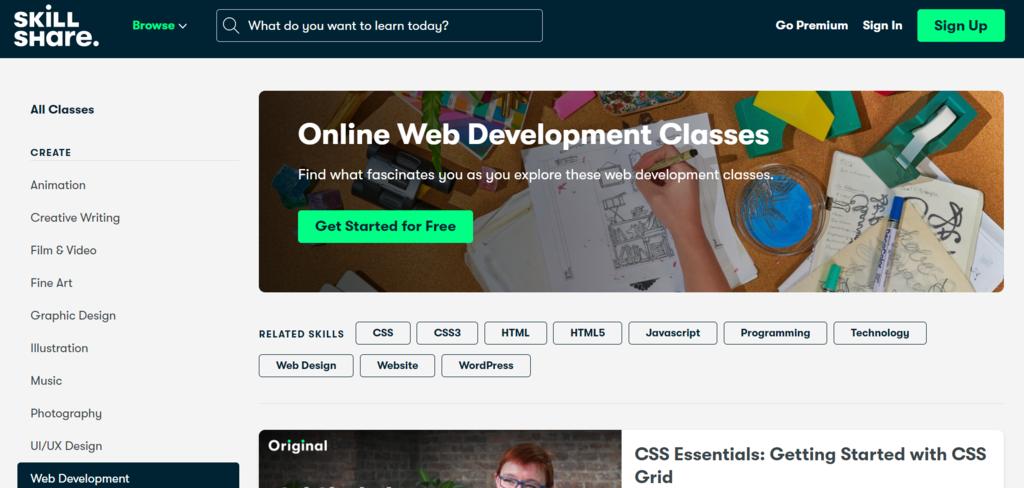 Aprender a programar en SkillShare