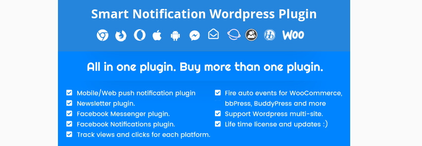 El plugin Smart Notifications.