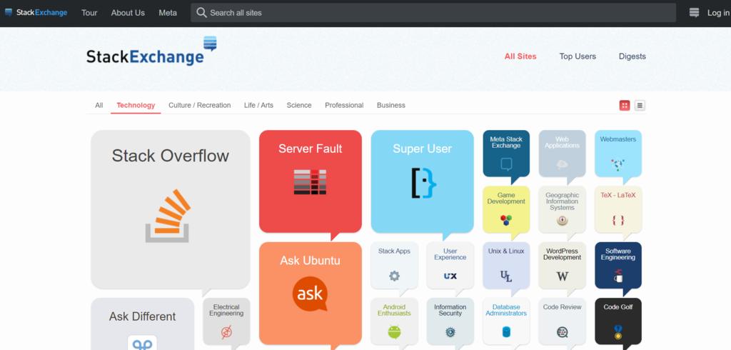 Mantén al día tus habilidades de desarrollo web con plataformas como Stack Exchange